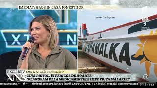 """Asia Express, sezonul 2. Gina Pistol, în pericol: """"Plângeam de la medicamentele împotriva malariei"""