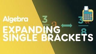 Expanding Single Brackets | Algebra | Maths | FuseSchool
