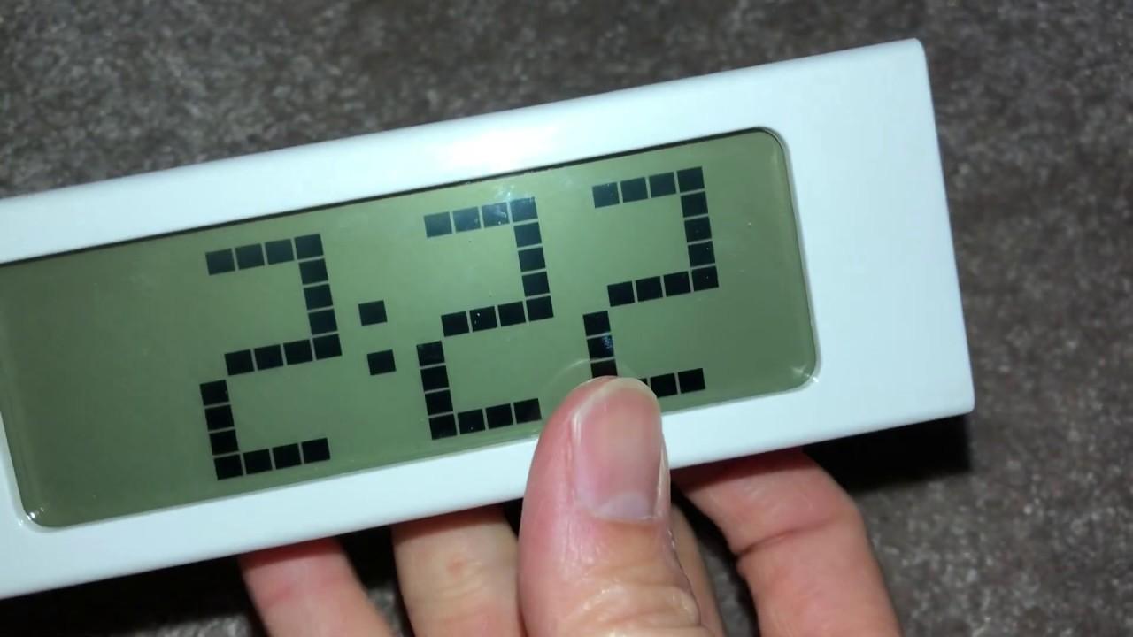 Set Time And Alarm For Ikea Vikis Clock