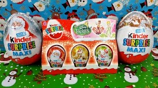 Kinder Surprise Eggs Pack Fairies & Kinder Maxi Eggs Christmas Edition Thumbnail