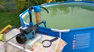Фильтр для бассейна на скорую руку