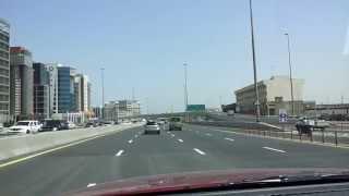 Driving my car in Deira Dubai. 16.04.2013