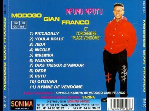 (INTÉGRALITÉ 1996) Modogo GFF et son Orchestre Place Vendôme  - PICCADILLY album Complet