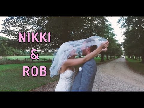 The Wedding of Nikki and Rob at Chicheley Hall