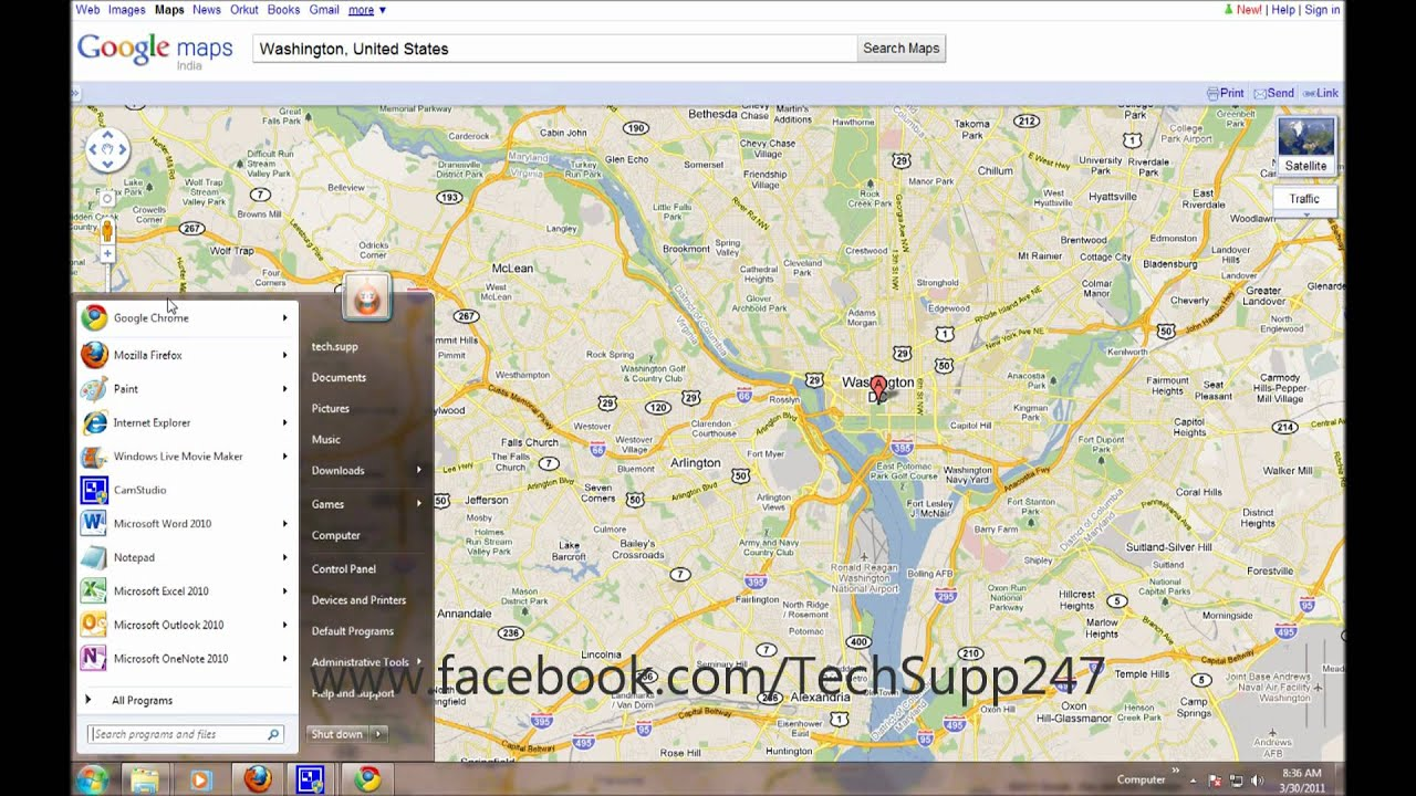 Save A Google Map As A BMP YouTube - Us map bmp
