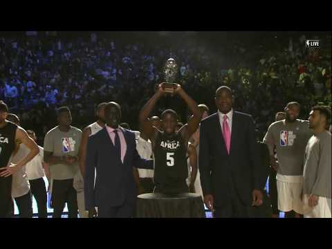 Best of NBA Africa Game 2017 MVP Victor Oladipo