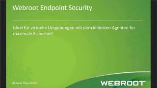 Webroot SecureAnywhere® Business Endpoint Protection - German