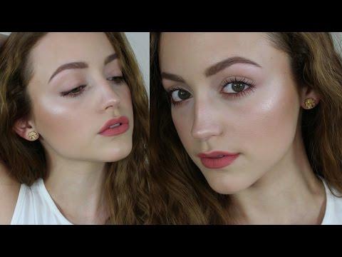 Fresh & Very Glowy Skin | Talk Through Makeup Tutorial