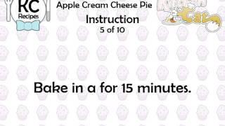 Apple Cream Cheese Pie - Kitchen Cat