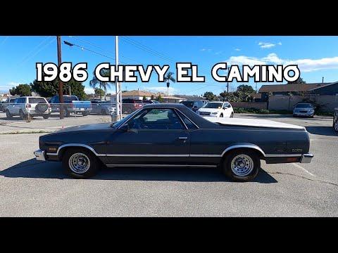 1986 Chevrolet El Camino W/350 Test Drive And Walkaround
