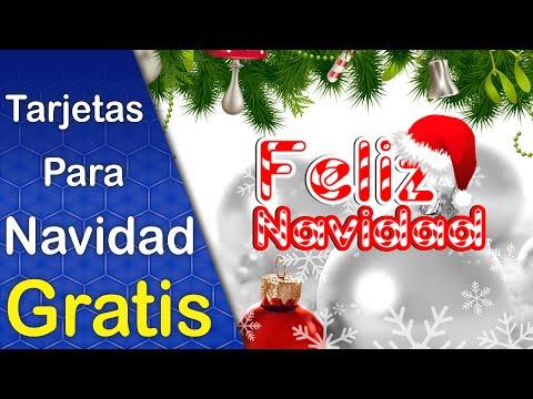 Diseños de Tarjetas de Navidad Colección 1 Descarga Gratis Editables