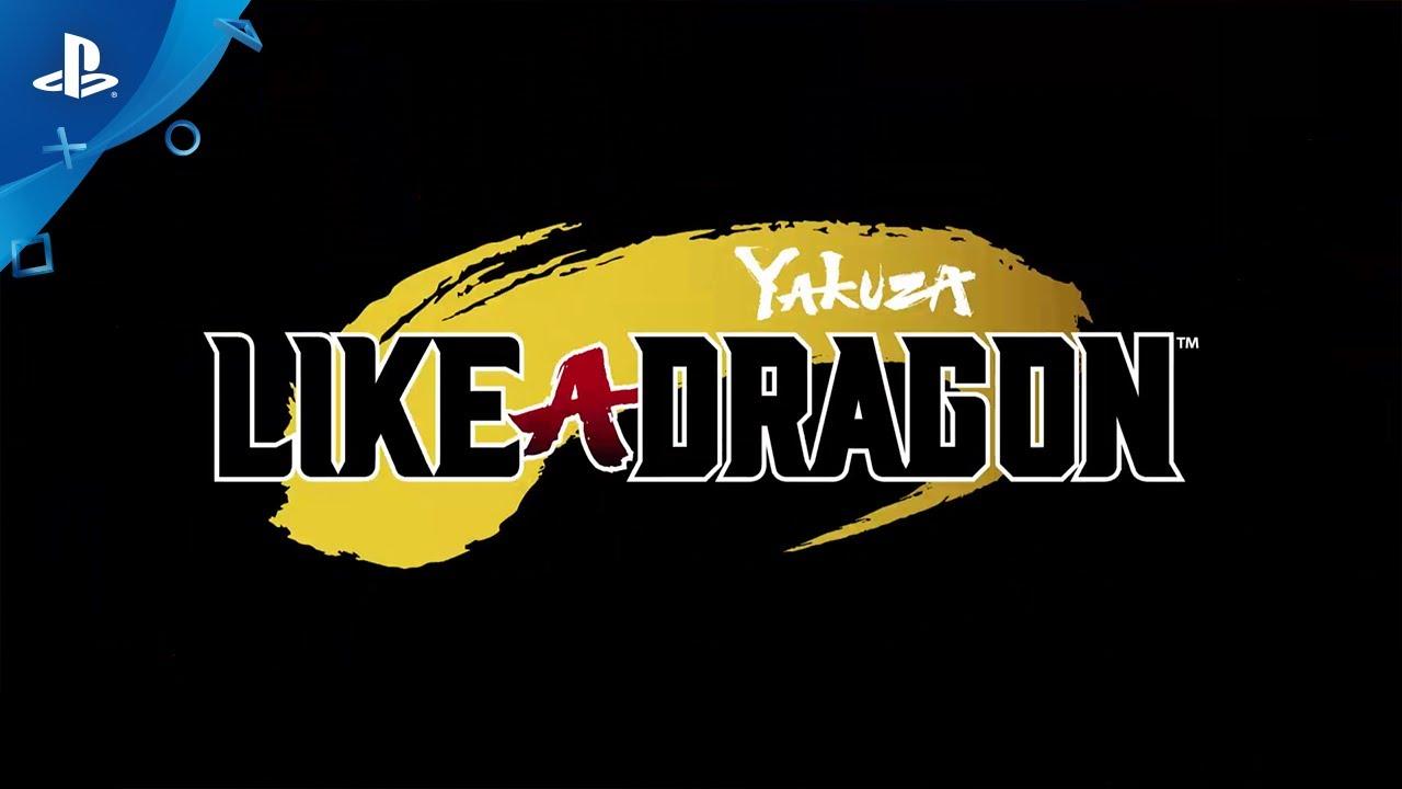 Yakuza Like A Dragon Cinematic Trailer Ps4 Youtube