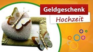 Repeat youtube video 💑 Geldgeschenke Hochzeit basteln | Do it yourself - trendmarkt24 Bastelideen