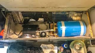 영국 Calor 캠핑카 DC전기온수보일러+엔진냉각수연동…