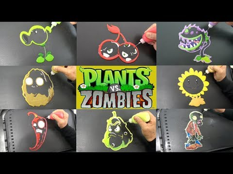 Making Plants Vs Zombies Pancake Art For Lunch | Creative Ideas That Are At Another Level