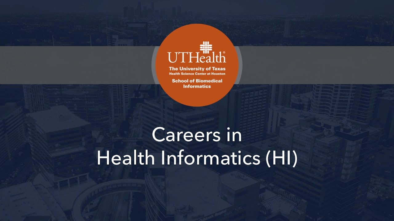 Careers in health informatics youtube 1betcityfo Images