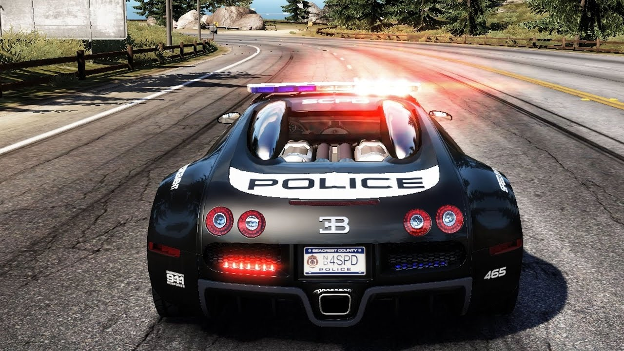 Need For Speed: Hot Pursuit - Bugatti Veyron 16.4 (Police ...