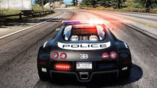 Need For Speed: Hot Pursuit - Bugatti Veyron 16.4 (Police) - Test Drive Gameplay (HD) [1080p60FPS]