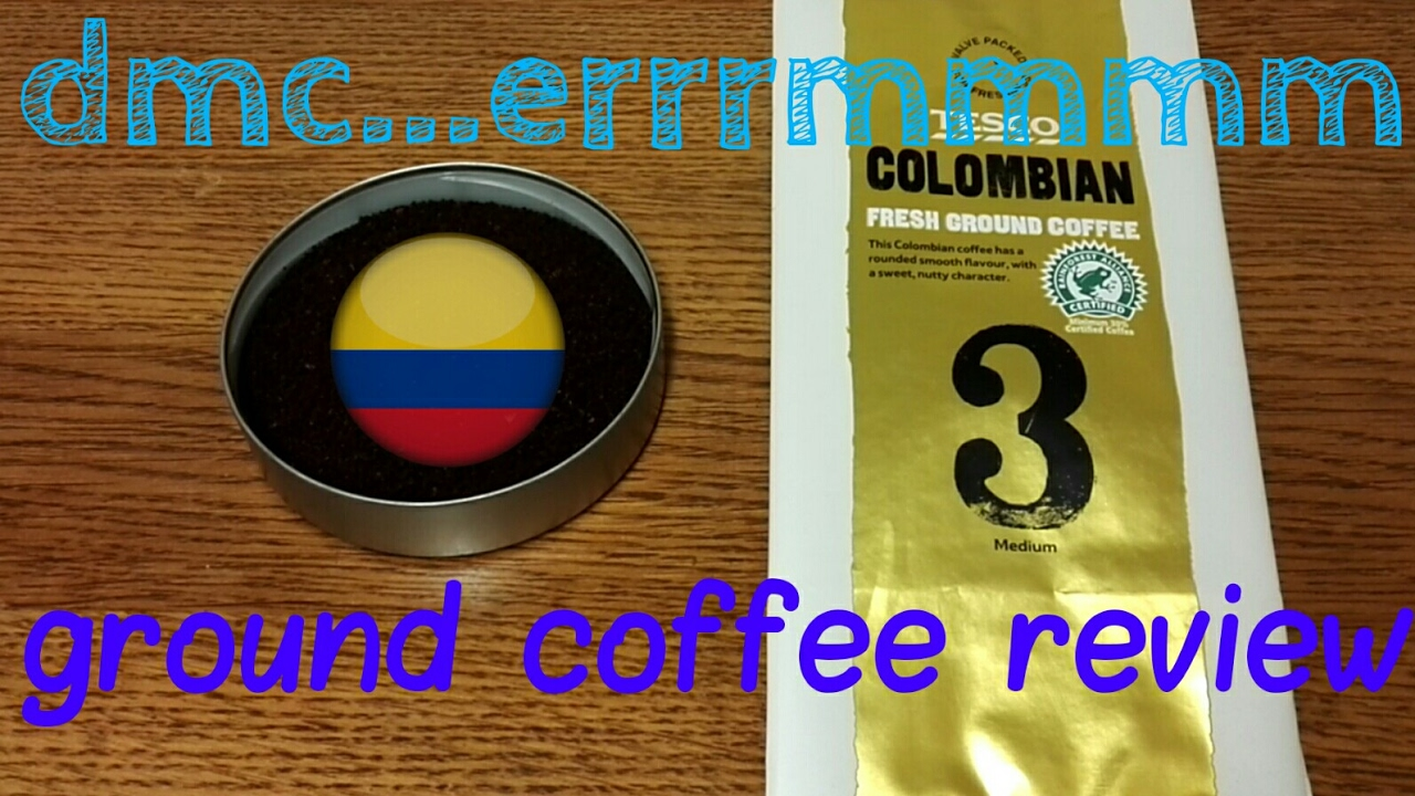 Tesco Colombian Fresh Ground Coffee Review