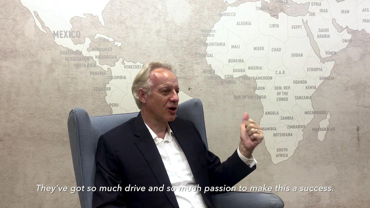 Change - Meet Roger Crook, former CEO of DHL