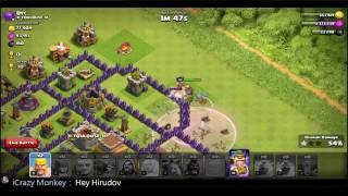 Clash of Clans | Clash Royale | Boom Beach | Hay Day | Online live Gameplay #287 [20160901]
