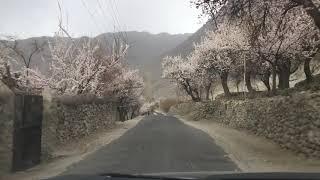 Beautiful Pakistan (SKARDU) _ Drive Through Lovely Landscapes Towards Mantoka Falls Skardu