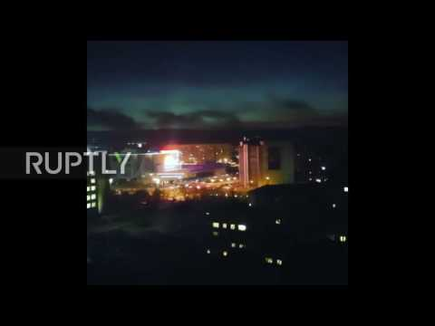 Russia: Power plant explosion lights up Murmansk skies, causes mass blackouts