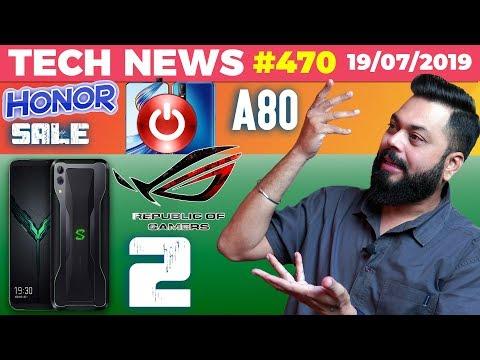 Black Shark 2 Pro Vs ROG Phone 2, Honor Sales, OPPO K3,Hotstar Popularity, Vivo V15 Shutdown-TTN#470