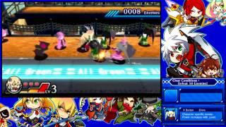Blazblue - Clone Phantasma 3DS Gameplay (Noel story mode)