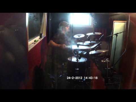 Drum Session for portuguese artist Dengaz