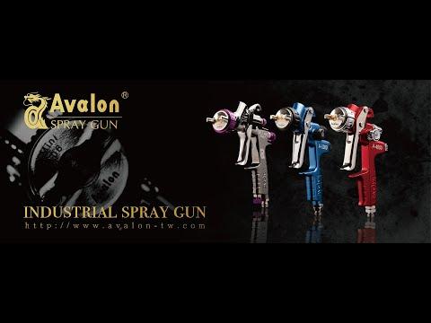 AVALON SPRAY GUN UNBOXING (ENGLISH)