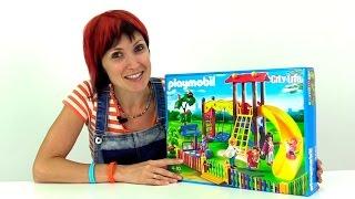 Конструктор Playmobil Toys. Собираем детскую площадку