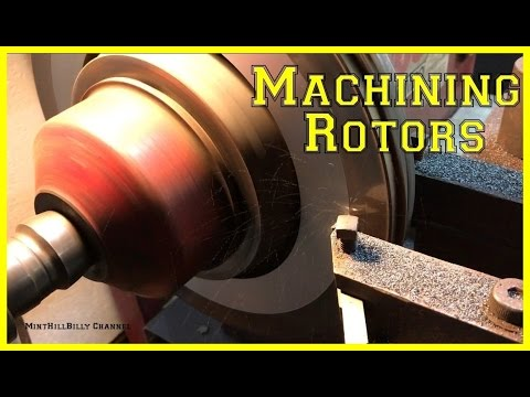 How To Machine A Rotor Using A Brake Lathe