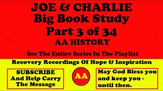 AA Speakers Joe McQ. and Charlie P.   Their Famous Alcoholics Anonymous Big Book Study 3 of 34