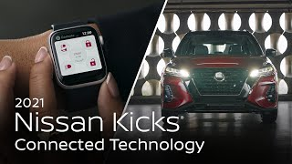 homepage tile video photo for 2021 Nissan Kicks® Connected Technology
