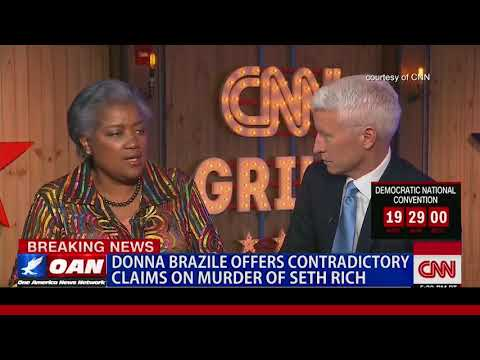 Donna Brazile Offers Contradictory Claims on Murder of Seth Rich