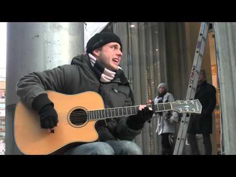 William Read - Streetlife and Music - Europa-Passage Hamburg 2012