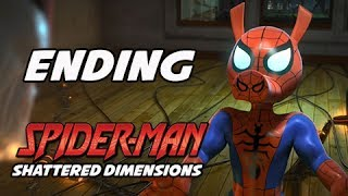 Spider-Man Shattered Dimensions Walkthrough Part 36 - ENDING SPIDER-PIG  (Gameplay Commentary)