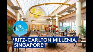 Ritz Carlton Millenia, Singapore | Club Deluxe Marina Room by The Luxe Insider