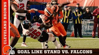 Top Plays: Amazing Goal Line Stand vs. Falcons in Week 10 | Cleveland Browns