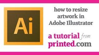 Adobe Illustrator Tutorial: How To Resize Artwork For Print