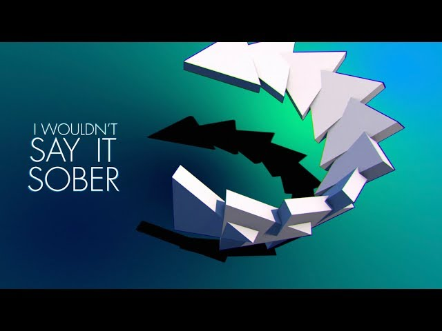 Cheat Codes - Sober ft. Nicky Romero [Official Lyric Video]