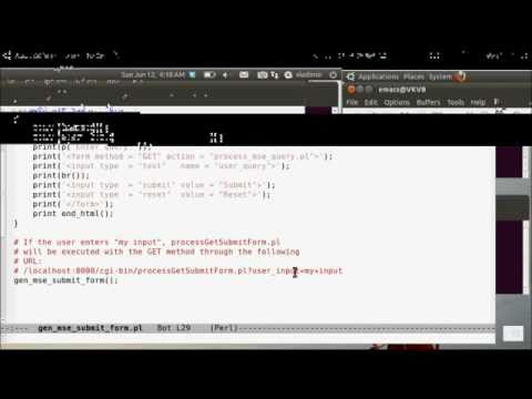 CGI Scripting in Perl and Python: Part 09