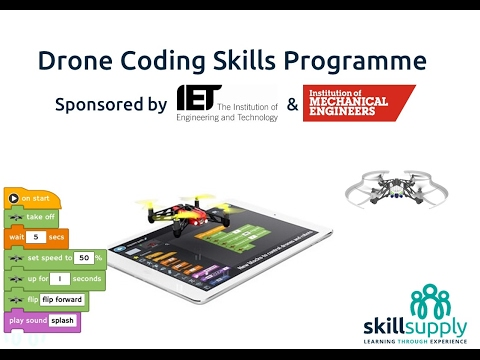 Drone Coding Skills with Skill Supply
