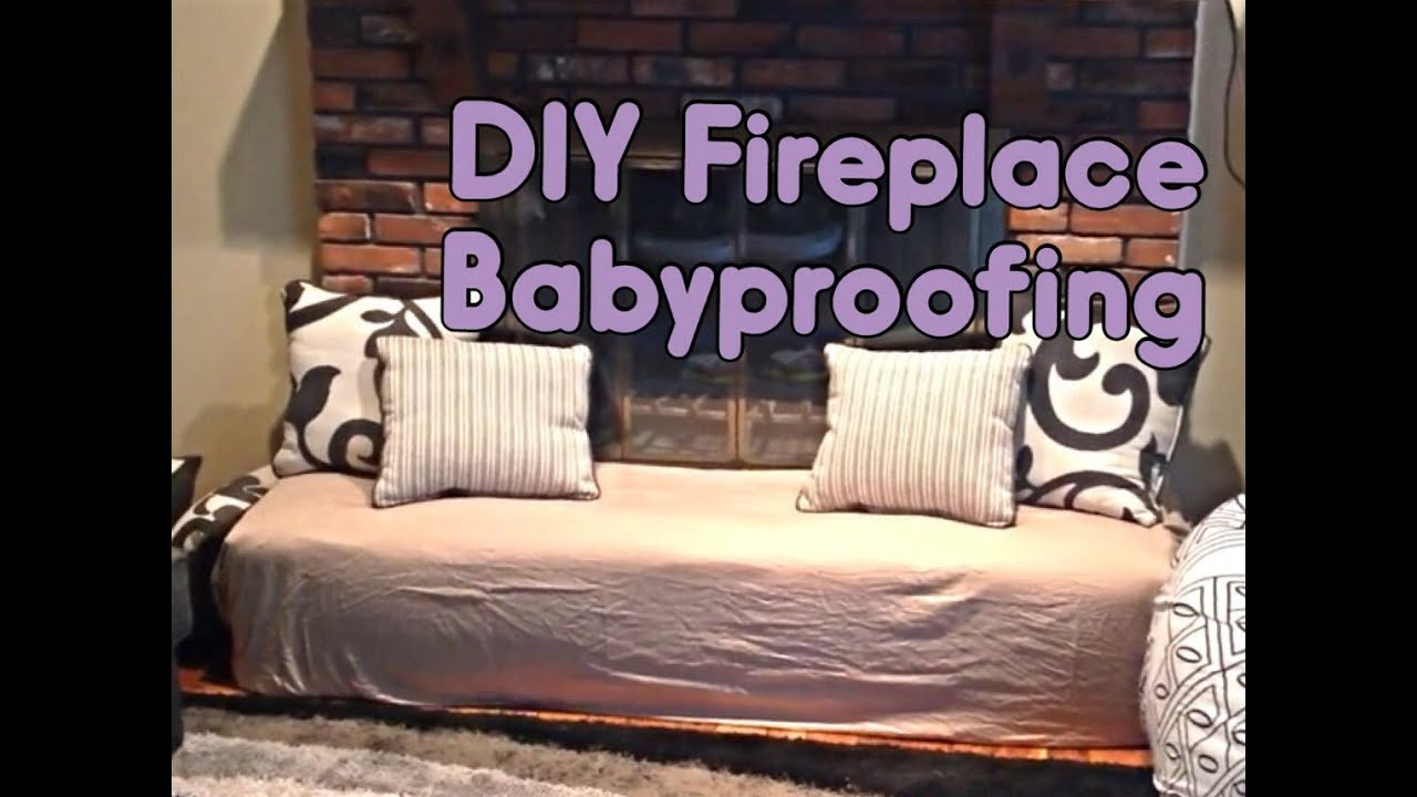 DIY | Fireplace Babyproofing - YouTube