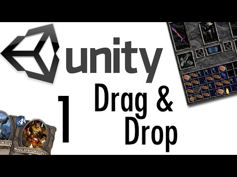 Unity Tutorial - Drag & Drop Tutorial #1 [RPGs, Card Games, uGUI]