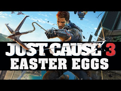 Best Easter Eggs Series - Just Cause 3 // Ep.98