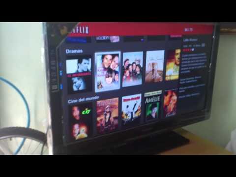 WD Live TV y Netflix