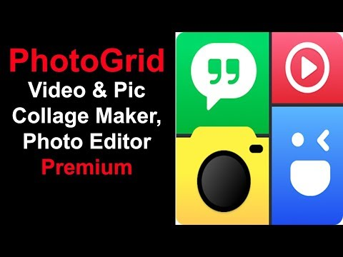 PhotoGrid Video & Pic Collage Maker, Photo Editor Premium Free Download