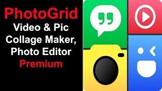 PhotoGrid Video & Pic Collage Maker, Photo Editor Premium Free Download screenshot 2